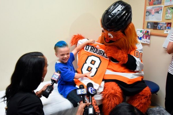 Gritty and fan